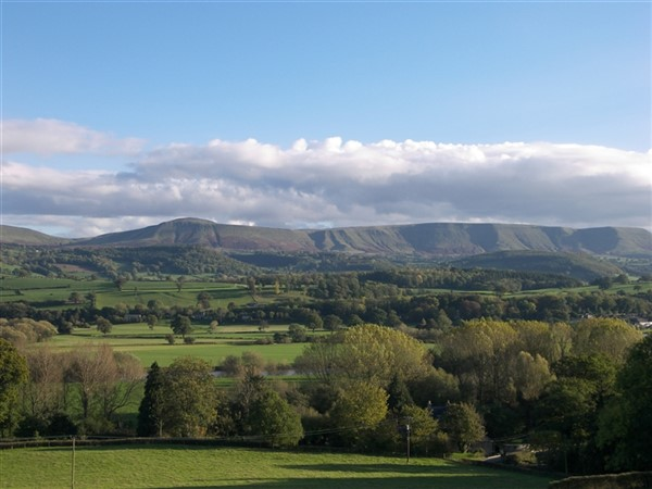 Hay on Wye via Brecon Beacons & Black Mountains
