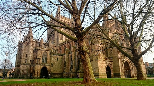 Hereford Cathedral & Shops/Sights